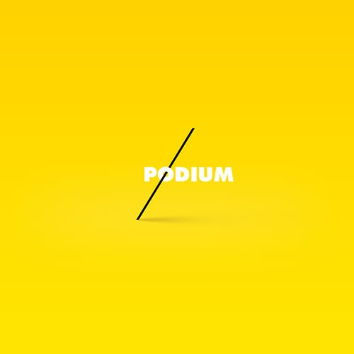 Podium Logo - Music