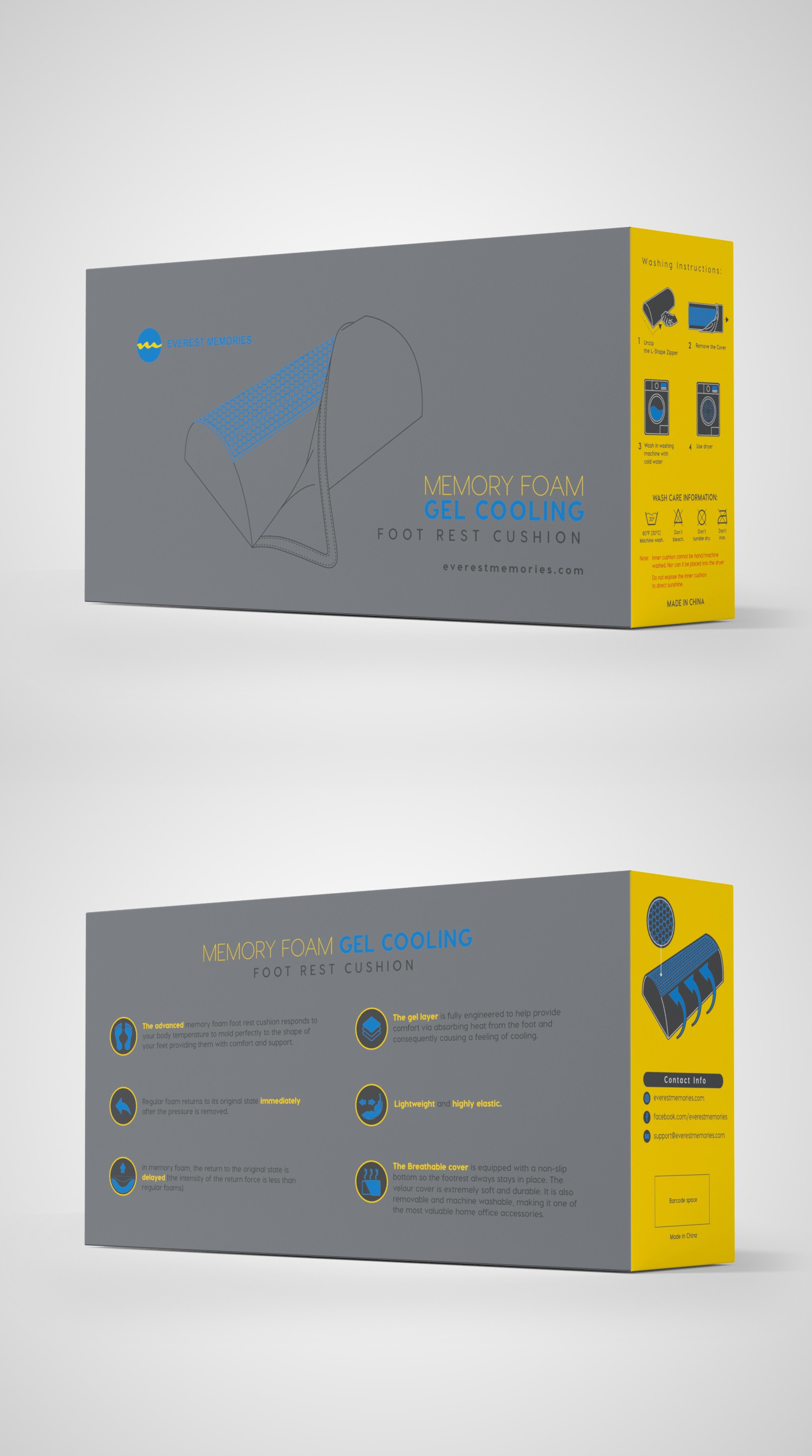 Everest Memories Box Design