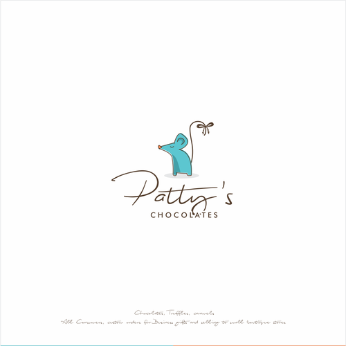 Fun design for a mouse lover, chocolate creator
