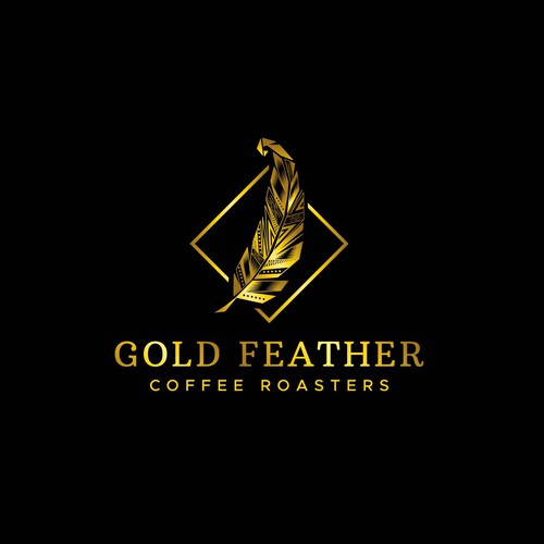 Gold Feather Coffee Roasters Logo