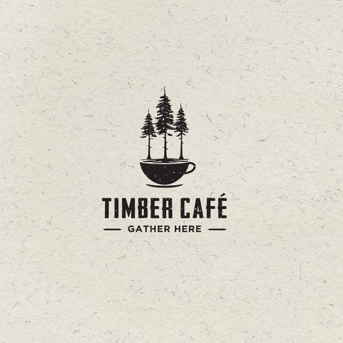 Cafe Logo - fresh, natural, garden patio