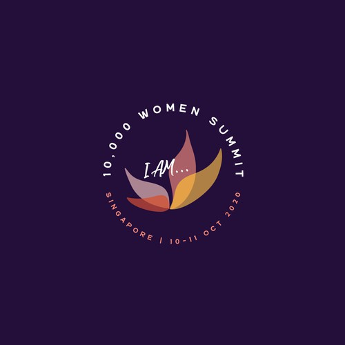 Logo Concept for 10,000 Women Summit