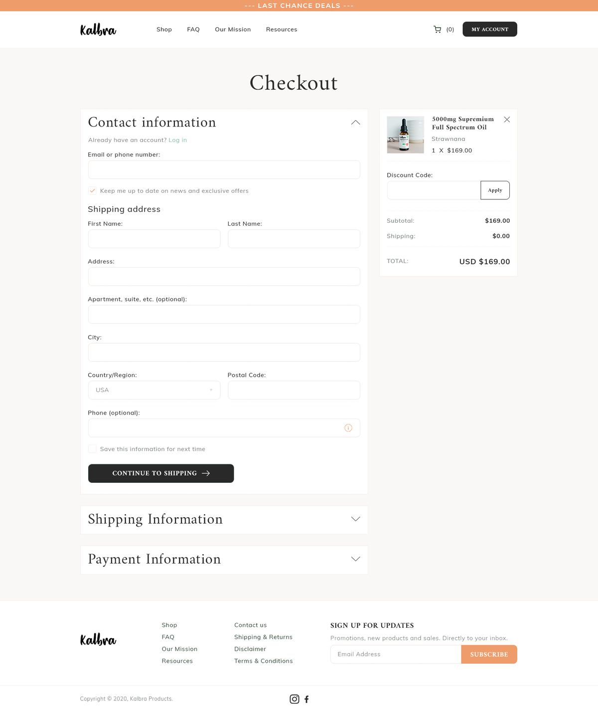 Design for 2 CBD Ecommerce Websites