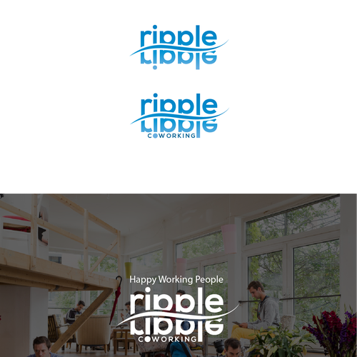 Interesting coworking logo