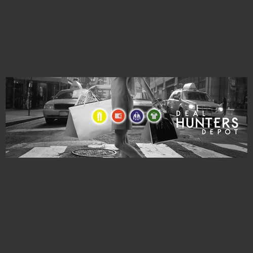 Facebook Cover for Deal Hunters Depot