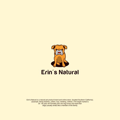 Design a Logo for an All Natural Pet Product Brand and Store