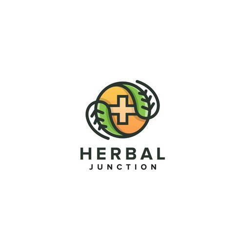 Logo for a medical marijuana dispensary