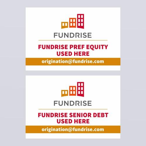 Fundrise Signage