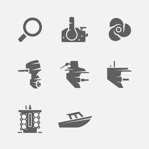 Crowley Marine - Icon set