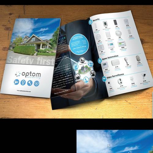 Multi product business brochure