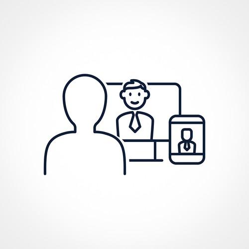 CEO Online Course Super Icon Design