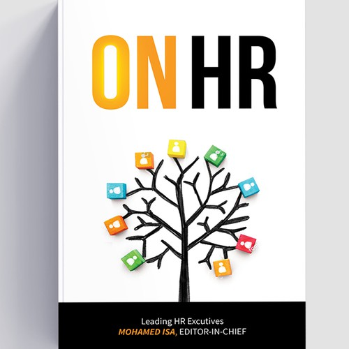 Book cover design - On HR