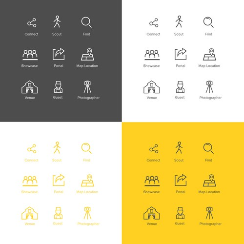 scoutt icons set