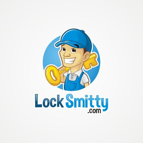 Design the new LockSmitty.com Character Logo