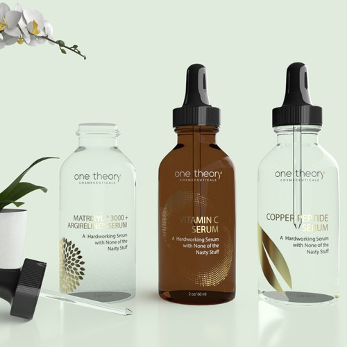 Glass Bottles for Cosmetic Serums
