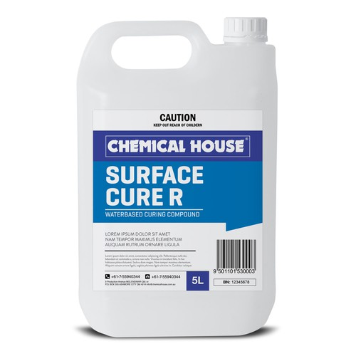 Design Label For Industrial Chemical