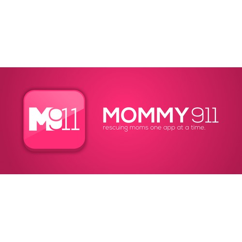 Mommy911 Apps needs a new icon or button design