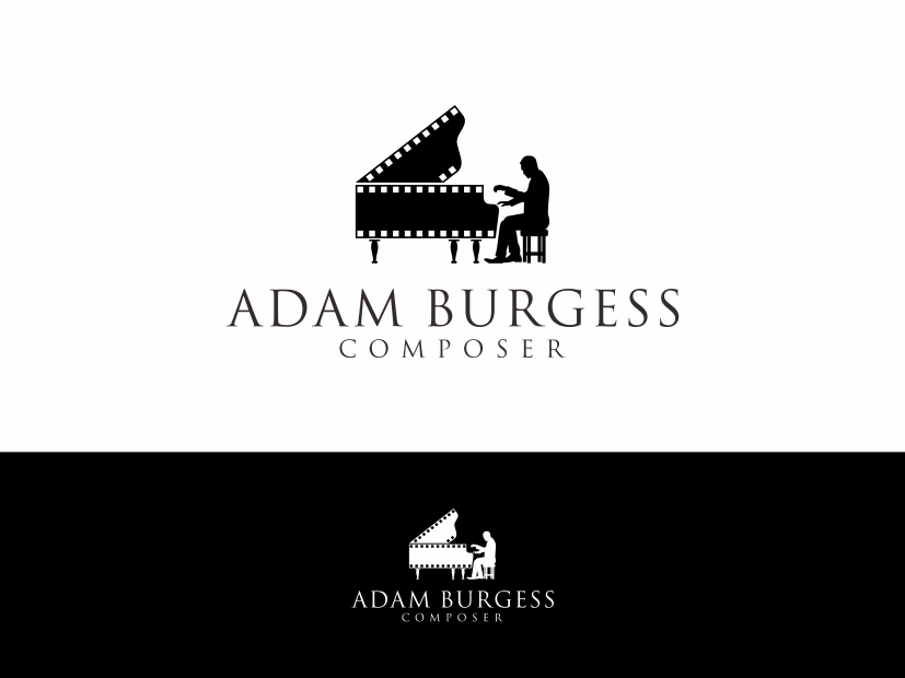 Create an exciting, classy logo for a film composer!