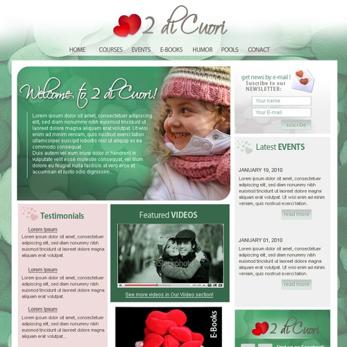 Be My Designer: Easy and Beautiful Website!