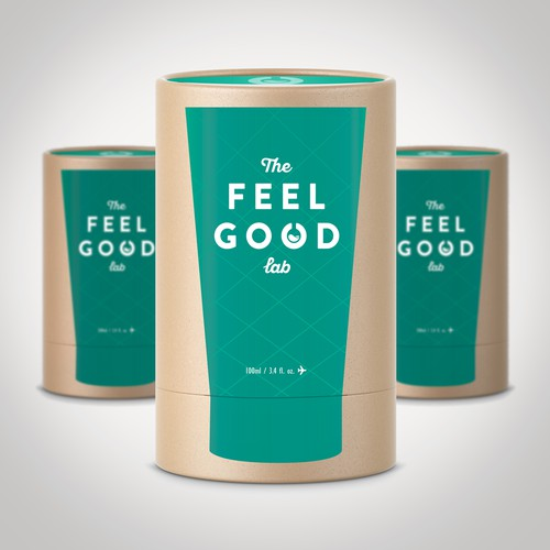 The Feel Good Lab packaging