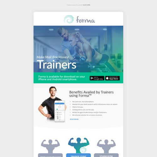 Physical Fitness Email