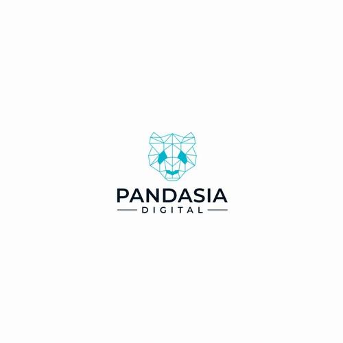 Awesome Logo for a Digital Marketing Agency - Pandasia Digital