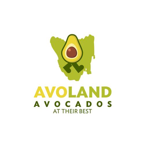 Logo for a Tasmania's first commercial avocado farm