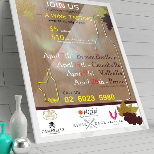 FLYER FOR WINE INDUSTRY