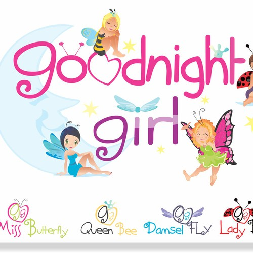 Design a logo for my  new company -  Goodnight Girl