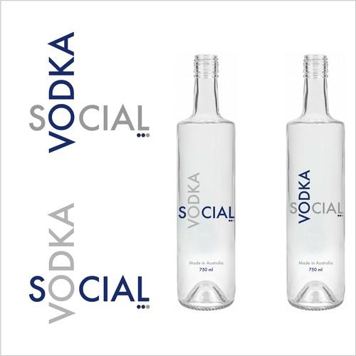 Logo for a vodka company hitting the australian market!