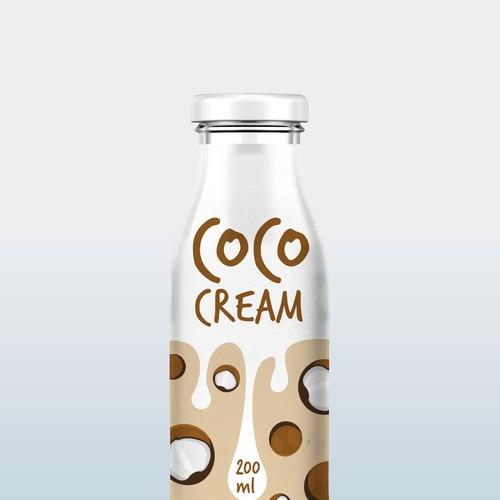 Coco Cream Label