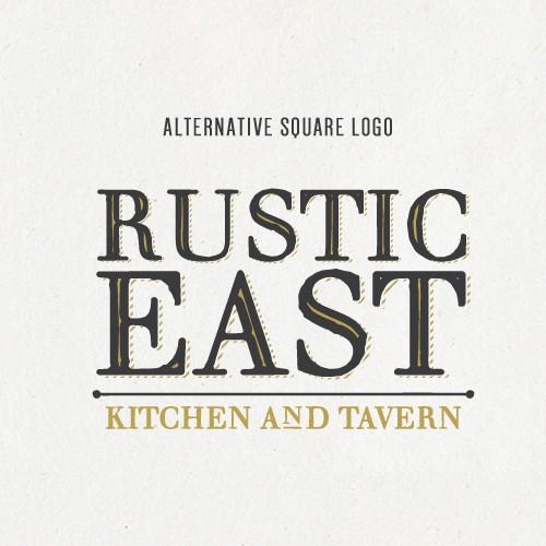 Rustic East Logo Design