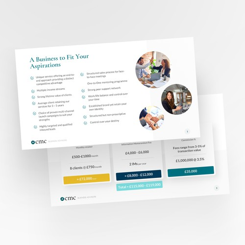 Visually Powerful Presentation Slide Deck