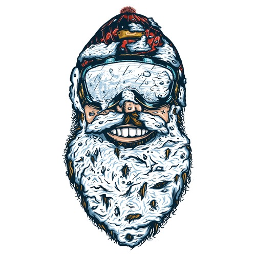 Snow Beard Man
