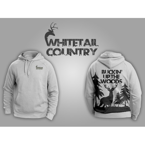 Sweatshirt Design - Outdoors / Whitetail Hunting Industry