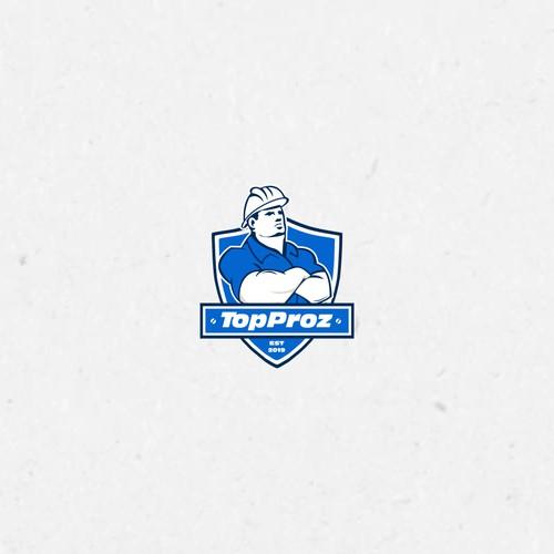 Topproz Logo design