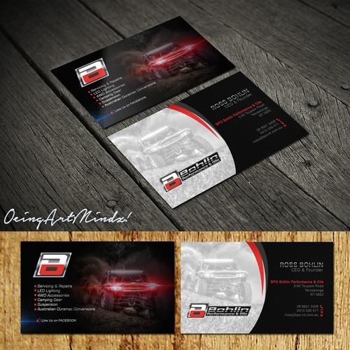 Bohlin Business Card