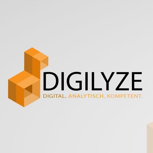 Modernes und seriöses Corporate Design für digitales Marketing