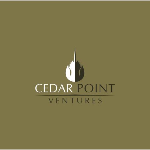 corporate logo for cedar point ventures