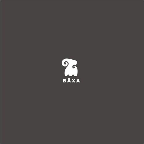 Create a unique and rare logo for Bāxa