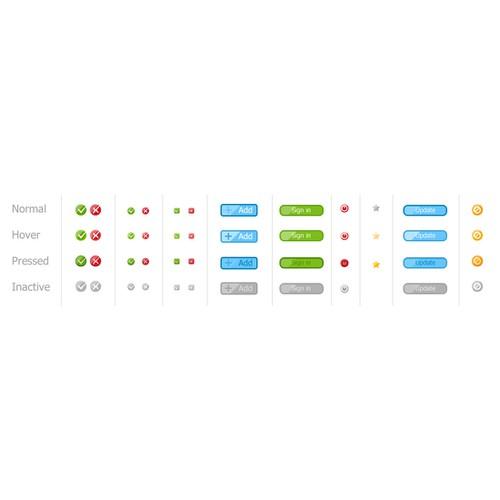 Web design for goal setting web application