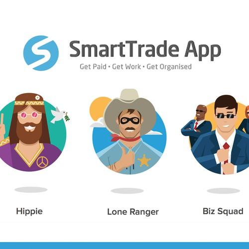 SmartTrade App subscription plan icons