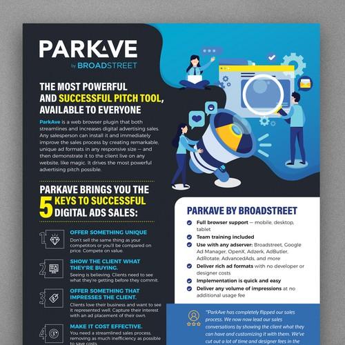 ParkAve Flyer Design