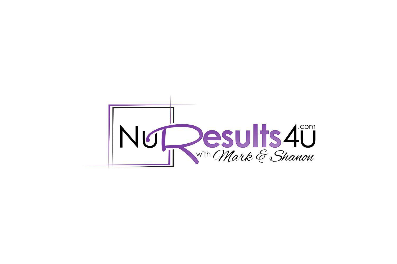 """NuResults4u with Mark & Shanon"" needs cutting edge logo"