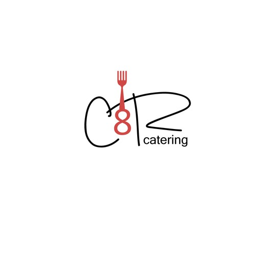 Simple lgo for catering servive