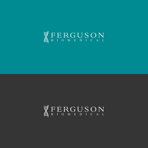 Create a clean and simple logo for Ferguson Biomedical
