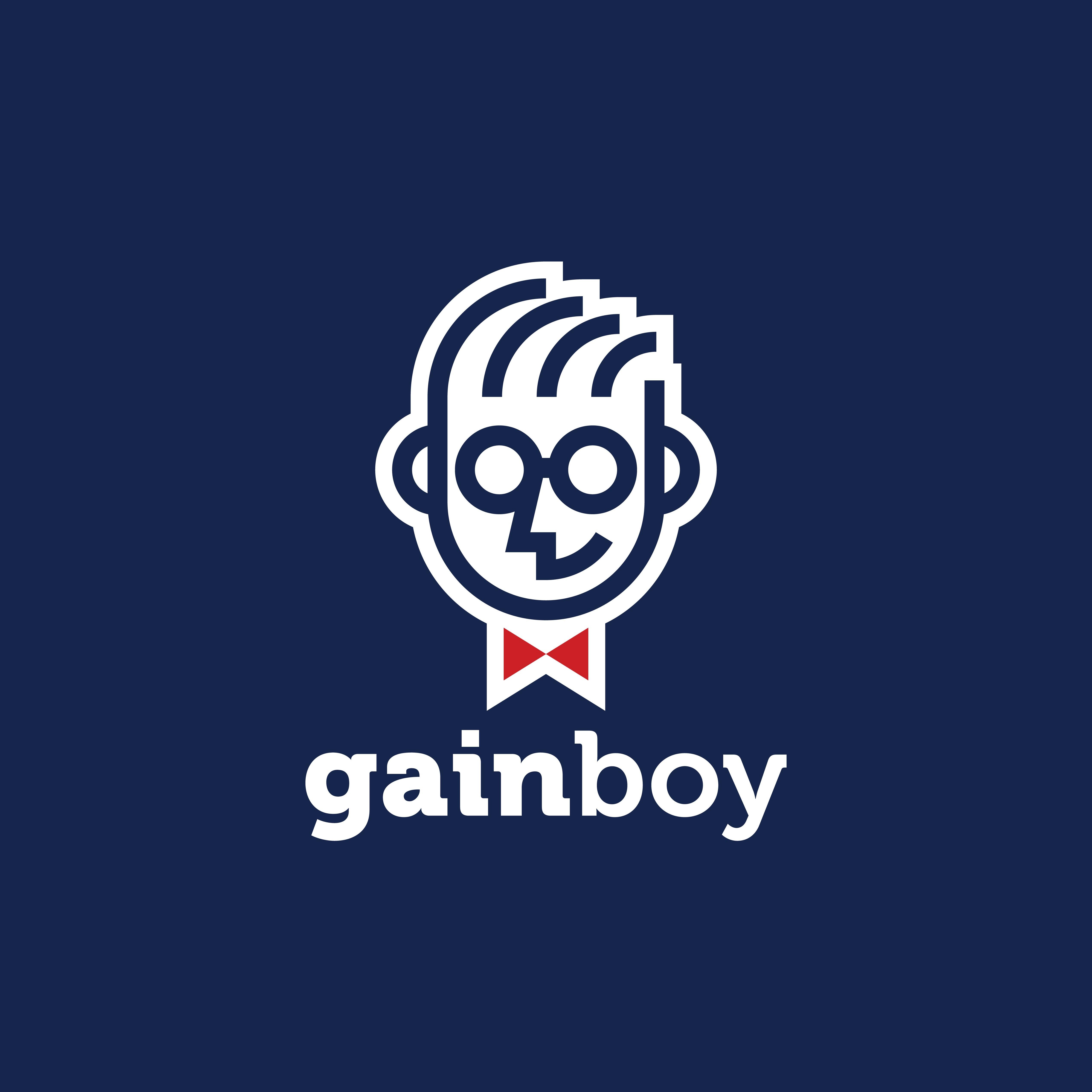 Create a Playful, Mascot-like Logo for Gainboy