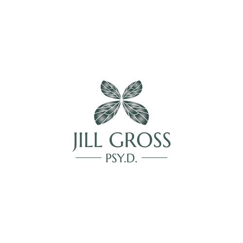 Logo for a psychologist and grief specialist