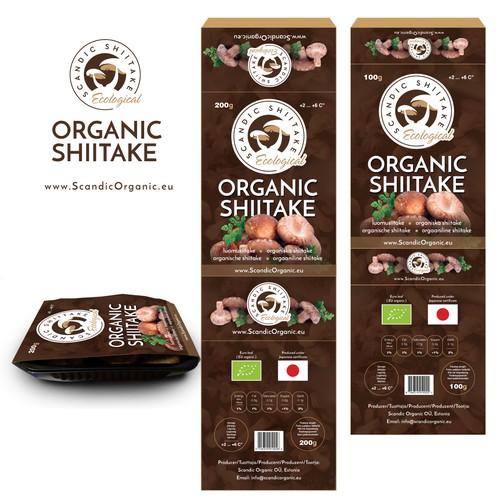 Mushroom retail boxes design