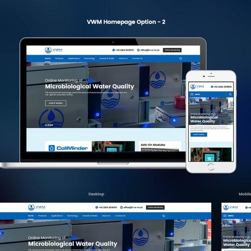 Web Design for VWM